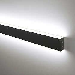 Линейный светодиодный накладной двусторонний светильник 128см 50Вт 6500К черная шагрень LSG-02-2-8*128-6500-MSh
