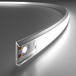 Гибкий алюминиевый профиль для LED ленты LL-2-ALP012
