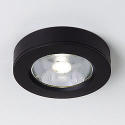 Накладной потолочный светодиодный светильник Чёрный DLS030