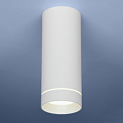 Накладной потолочный светодиодный светильник DLR022 12W 4200K белый матовый