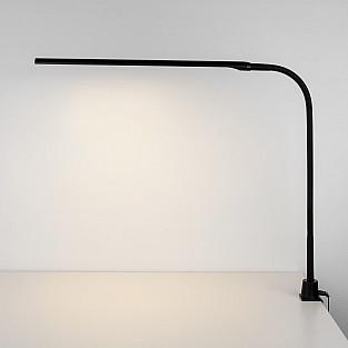 Светодиодная настольная лампа на струбцине 80429/1 черный