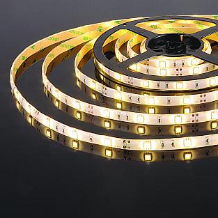 Светодиодная лента 5050/30 LED 7,2W IP65 теплый белый 3300К