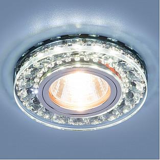 Точечный светодиодный светильник 2192 MR16 SBK дымчатый