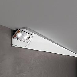 Угловой алюминиевый профиль для LED ленты LL-2-ALP008