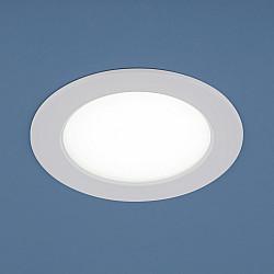 Встраиваемый светодиодный потолочный светильник с LED подсветкой 9911 LED 6W WH белый