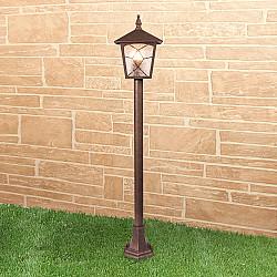 Lyra F брауни уличный светильник на столбе GL 1012F