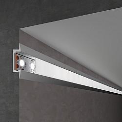 Встраиваемый алюминиевый профиль для LED ленты LL-2-ALP007
