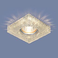Встраиваемый потолочный светильник с LED подсветкой 2214 MR16 CL прозрачный
