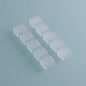 Аксессуары для светодиодной ленты Заглушка для ленты Premium 220V 2835 универсальная (10 шт)