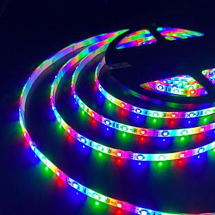 Светодиодная лента 2835 12V 60Led 4,8W IP65 RGB