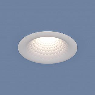 Встраиваемый потолочный светодиодный светильник 9904 LED 5W WH белый