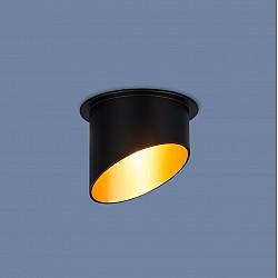 Встраиваемый точечный светильник 7005 MR16 BK/GD черный/золото
