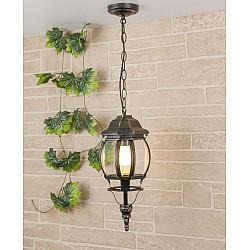 уличный подвесной светильник GL 1001H черное золото