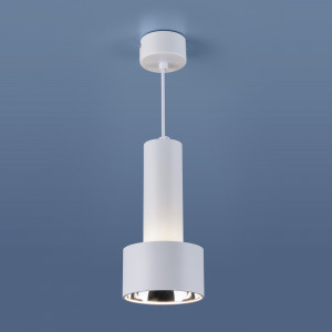 Накладной потолочный светодиодный светильник DLR033 9W 4200K 3300 белый/хром