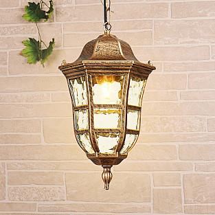 Уличный подвесной светильник Dorado H черное золото GL 1013H