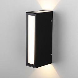 Acrux чёрный Уличный настенный светодиодный светильник 1524 TECHNO LED