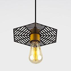 Подвесной светильник 50167/1 бронза/черный