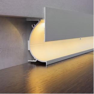 Профиль для светящегося плинтуса и встраиваемых светильников 7023259
