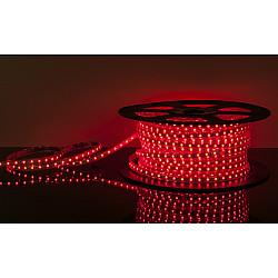 Светодиодная лента LSTR003 220V 14,4W IP65 красный