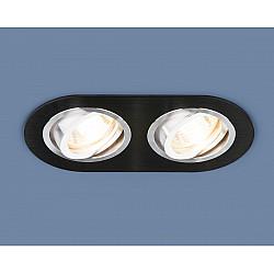 Алюминиевый точечный светильник 1061/2 MR16 BK черный