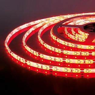 Светодиодная лента 2835/60 LED 4.8W IP65 красный свет