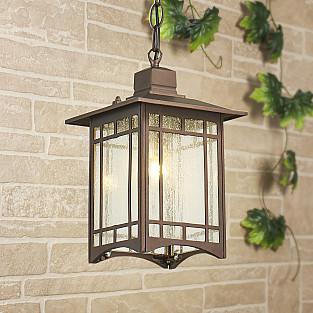 Vela H кофейное золото уличный подвесной светильник GL 1019H