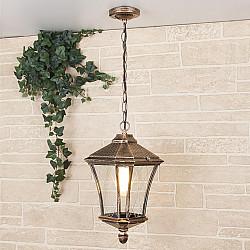 Virgo H черное золото уличный подвесной светильник GLXT-1450H