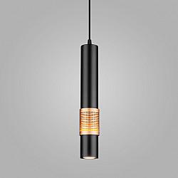 Накладной потолочный светильник DLN001 MR16 9W 4200K черный матовый/золото