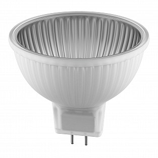 922107 Лампа HAL 220V MR16 G5.3 50W 60G ALU RA100 2800K 2000H DIMM