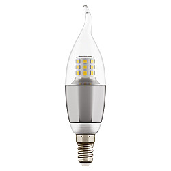 940644 Лампа LED 220V CA35 E14 7W=70W 460LM 60G CL/CH 4000K 20000H (в комплекте)