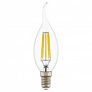 940662 Лампа LED 220V CA35 E14 4W=40W 350LM 360G CL 3000K 20000H (в комплекте)