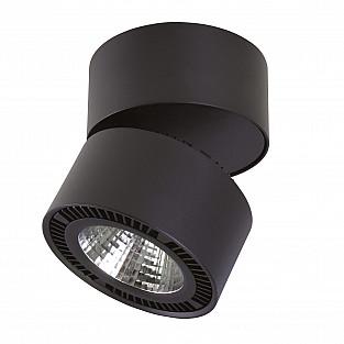 214857 Светильник FORTE MURO LED 40W 3400LM 30G ЧЕРНЫЙ 4000K (в комплекте)