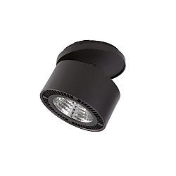 213807 Светильник FORTE INCA LED 15W 1400LM 30G ЧЕРНЫЙ 3000K (в комплекте)