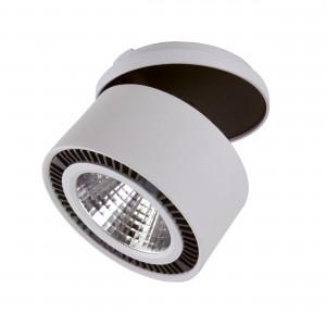 214829 Светильник FORTE INCA LED 26W 1950LM 30G СЕРЫЙ 4000K (в комплекте)