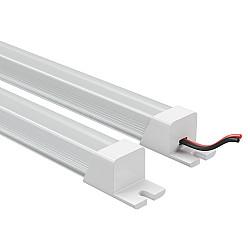 409122 Лента в PVC-профиле PROFILED 400022 12V 19.2W 240LED 3000K прямоуг.расс.мат-л: пластик,1шт=2м