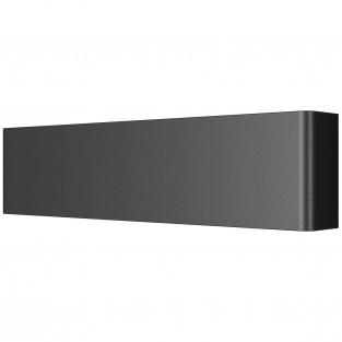 810617 Бра FIUME LED 10W 950LM Matt black 4000K (в комплекте)