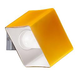 801613 (MB328-1SO) Светильник настенный PEZZO 1х40W G9 ХРОМ/ЯНТАРЬ (в комплекте)