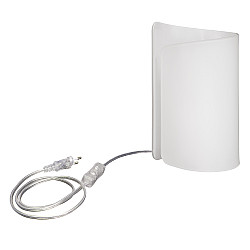 811910 (MT6000-1W) Настольная лампа PITTORE 1х40W E27 БЕЛЫЙ (в комплекте)