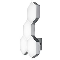 750642 (MВ13003032-4А) Бра FAVO LED-20W 960LM Silver 3000K (в комплекте)
