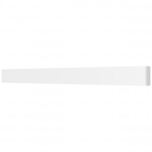 810636 Бра FIUME LED 30W 2850LM Matt white 4000K (в комплекте)