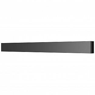 810637 Бра FIUME LED 30W 2850LM Matt black 4000K (в комплекте)