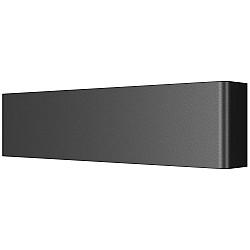 810517 Бра FIUME LED 10W 950LM Matt black 3000K (в комплекте)
