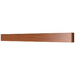 810638 Бра FIUME LED 30W 2850LM Dark wood 4000K (в комплекте)