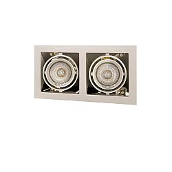 214027 Светильник CARDANO 16Х2 MR16/HP16 ТИТАН (в комплекте)