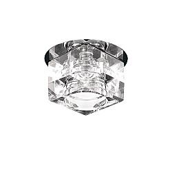 004060 Светильник ROMB CR G9 ХРОМ/ПРОЗРАЧНЫЙ (в комплекте)