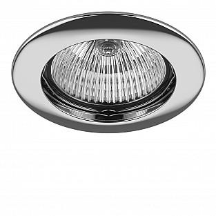 011014 Светильник LEGA HI FIX MR16/HP16 ХРОМ (в комплекте)