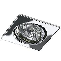 011944 Светильник LEGA16 QUA MR16/HP16 ХРОМ (в комплекте)