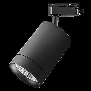 303272 Светильник для 1-фазного трека CANNO LED 35W 2240LM 45G ЧЕРНЫЙ 3000K IP20 (в комплекте)