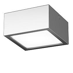 213924 Светильник ZOLLA QUAD LED-SQ 10W 780LM ХРОМ 4000K IP44 (в комплекте)