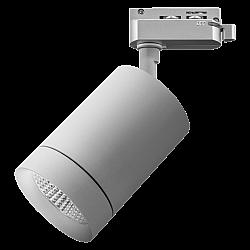 303294 Светильник для 1-фазного трека CANNO LED 35W 2240LM 45G СЕРЫЙ 4000K IP20 (в комплекте)